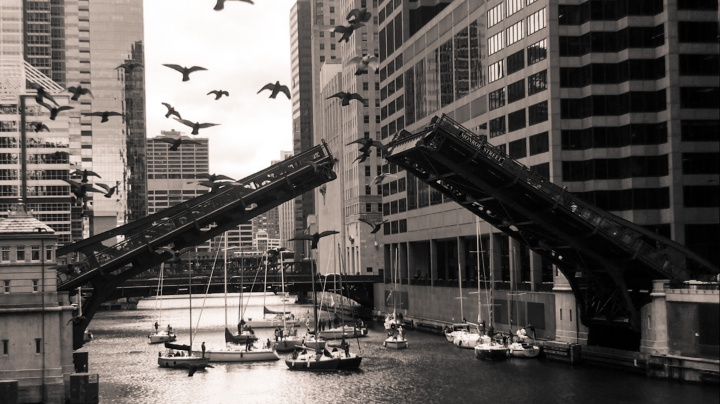 Moody Chicago In Pictures